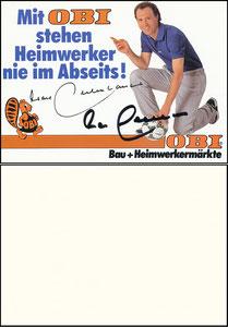 Beckenbauer, 1988, Obi, Motiv 2