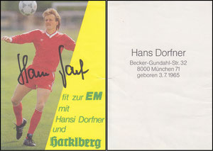 Dorfner, 1986, Hacklberg (Dank an SF Klaus)