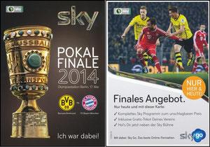 Sky, 2014, DFB-Pokalfinale