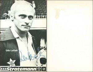 Lattek, 1980, Opel Stratemann (evtl. bei Dortmund), Dank an SF Michael