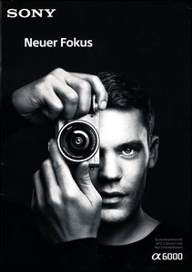 Neuer, 2015, Sony, A4-Booklet