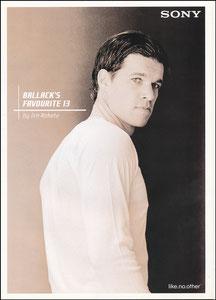 Ballack, 2006, Sony 'Ballack's Favourite 13', Booklet
