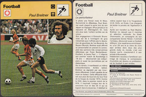 'Breitner', Frankreich, 1978, 16 265 38-11