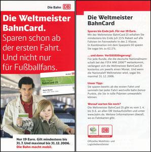 Ballack, 2006, Die Bahn, Flyer