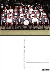 Fan Shop, Postkarte, '1989, Meisterschaft', Dank an SF Sven