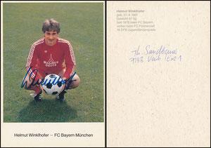 Winklhofer, 1980, Spielerkarte 1