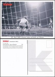 Kicker Sammelkarte 12a, Pfaff