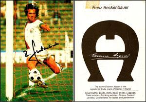 Beckenbauer, 1973, Etienne Aigner