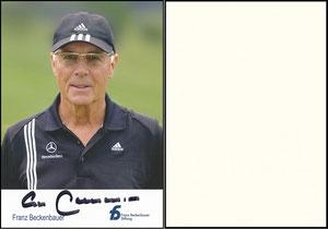 Beckenbauer, 2012, 'Franz-Beckenbauer-Stiftung'