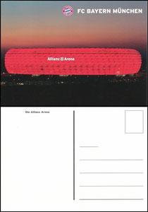 Allianz Arena, 2016, Stadionpostkarte