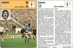 'Müller', Italien, 1977, 833-11, Dank an SF Hermann