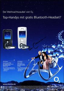 Beckenbauer, 2005, O², Werbeblatt A4