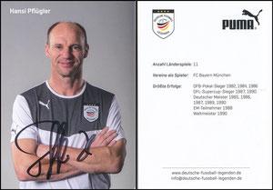 Pflügler, 2015, 'Deutsche Fupball-Legenden e.V