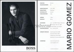 Gomez, 2009, Boss, ohne Druck-AG