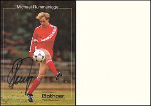 Rummenigge, Michael, 1982, Gothaer Versicherung