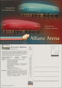 Allianz Arena, 2005, Stadionpostkarte
