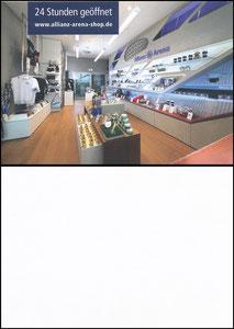 Allianz Arena, 2016, Shop-Postkarte