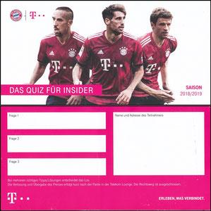 Telekom, 2018, 'Fan Award', Gewinnspiel , 03'2019