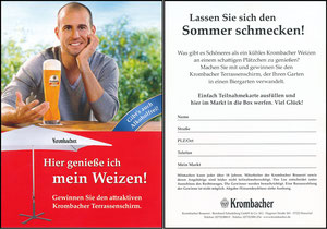 Scholl, 2011, Krombacher, Gewinnspiel