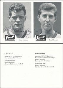 Gemeinschaftskarte, 1965, Danzberg - Grosser, Sport Magazin