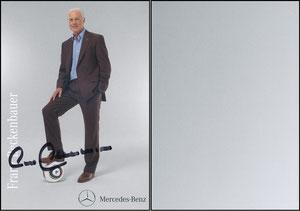 Beckenbauer, 2010, Mercedes, Motiv 2, Farbe gräulich