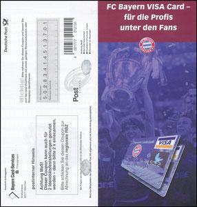 Bayerische Landesbank, 2001, Visa, Klappflyer 1, gab es nur in einer Ausgabe des Bayern Magazins