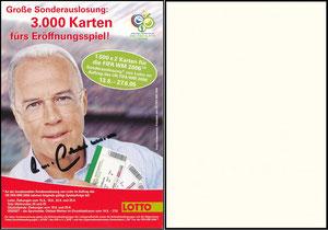 Beckenbauer, 2005, Lotto