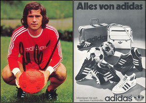 Müller, Gerd, 1974, Adidas 'Alles von Adidas'