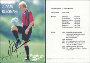 Klinsmann, 1997, Reebok, Motiv 2