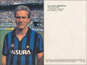 Rummenigge, 1986, Inter Mailand, Karte 1