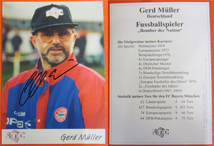 Müller, Gerd, 1995, STC 'Sport und Training Company, Schweiz', Dank an SF Norbert