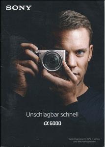 Neuer, 2017, Sony Alpha 6000 Booklet A4, 1. Ausgabe
