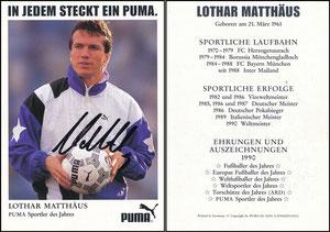 Matthäus, 1991, Puma