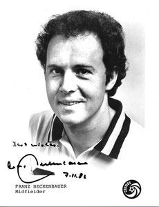 Beckenbauer, 1980, Cosmos NY, A5, Dank an SF Heiko