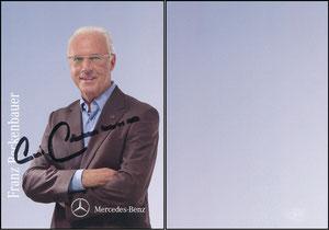 Beckenbauer, 2010, Mercedes, Motiv 1, Farbe bläulich