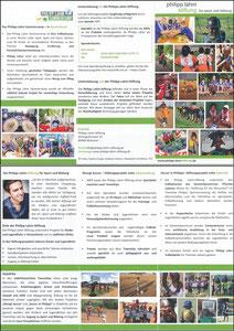 Lahm, 2017, Philipp-Lahm-Stiftung, Klapp-Flyer
