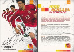 Ballack, 2005 CocaCola '1000 Schulen in Bewegung' 2-4