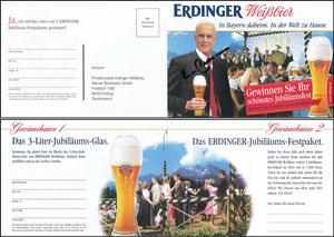 Beckenbauer, 2006, Erdinger, Klappkarte