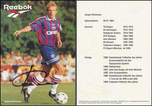 Klinsmann, 1995, Reebok, Motiv 1