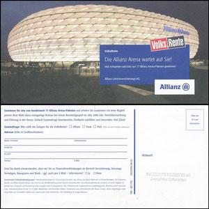 Allianz Arena, 2005, Allianz-Gewinnspiel