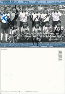 Mannschaftskarte 2007, dpa Picture Alliance, mit K-H Rummenigge