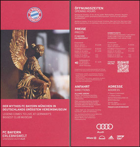 Bayern Erlebniswelt, 2018, Flyer
