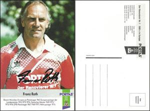 Roth, 1993, Portas, 'ohne Druck am Unterrand', Dank an SF Michael