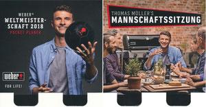 Müller, Thomas, 2018, Weber-Grill, Pocketplaner WM, Karte aus Aufsteller