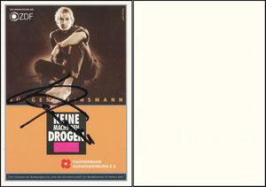 Klinsmann, 1996, 'Keine Macht den Drogen'