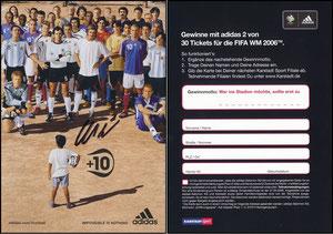 DFB, 2006, 'Fifa 2006', signiert Müller