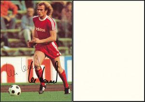 Hoeneß, 1975, Adidas 'Der Ausrüster für Sport und Freizeit', BLANKO Rückseite