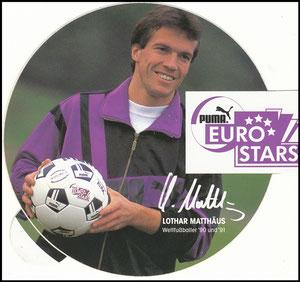 Matthäus, 1992, Euro-Stars, Aufkleber