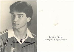 Mathy, 1981, Spielerkarte