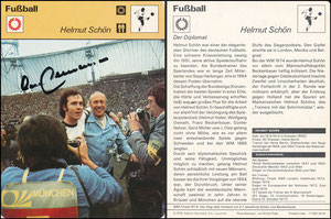 'Helmut Schön', Deutschland, 1978, 17033 30-03